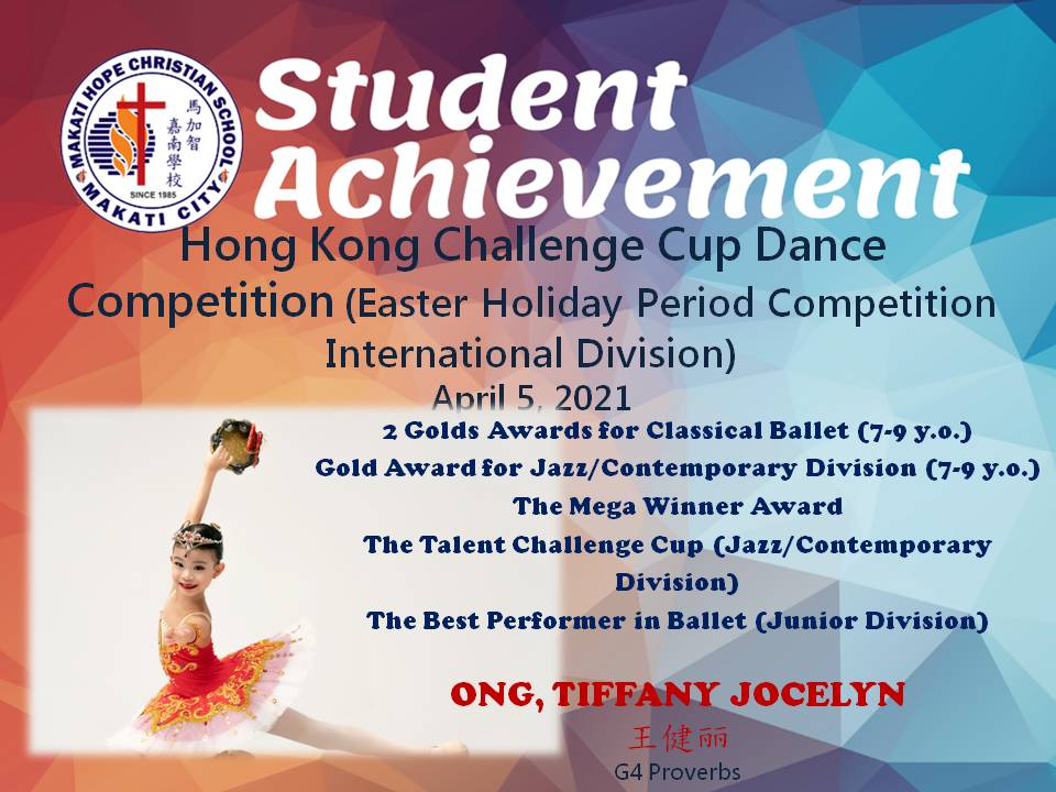 Hong Kong Challenge Cup Dance Competition (Easter Holiday Period Competition International Division)