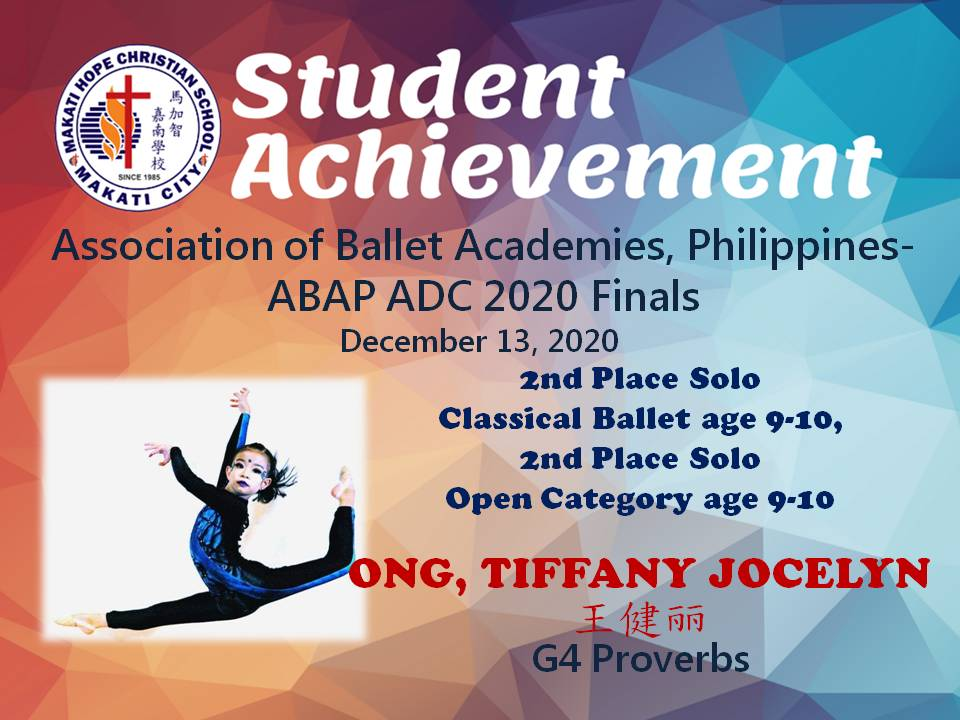 Association of Ballet Academies, Philippines-ABAP ADC 2020 Finals