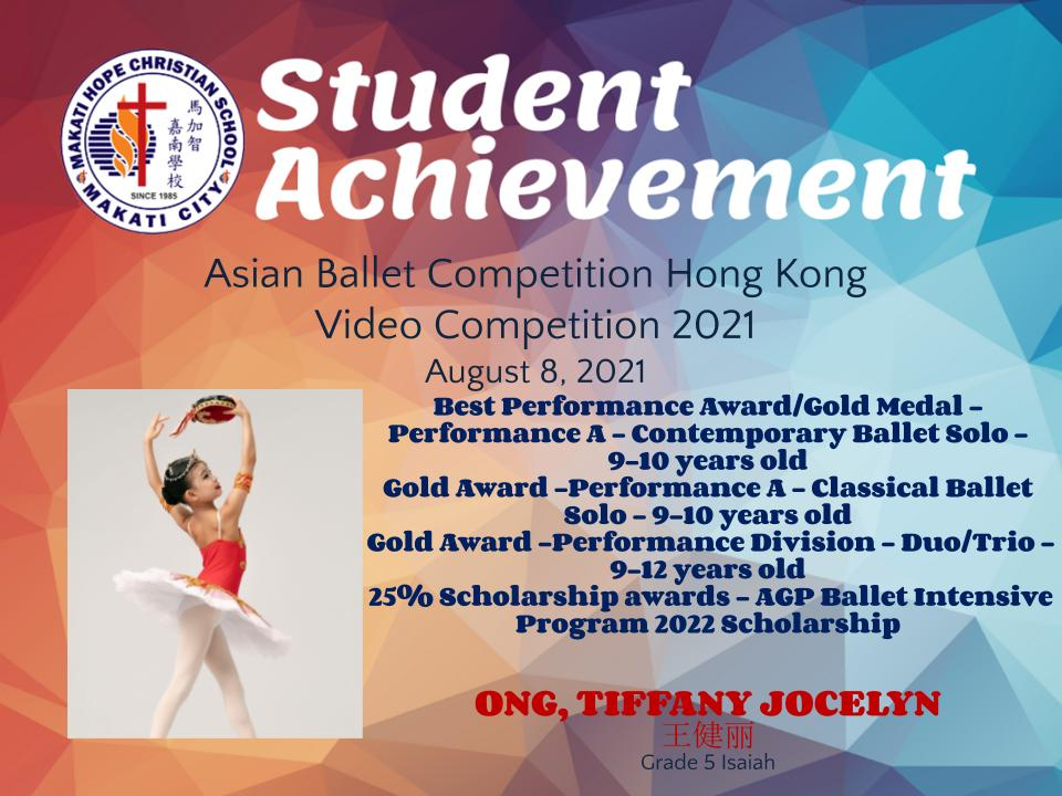 Asian Ballet Competition