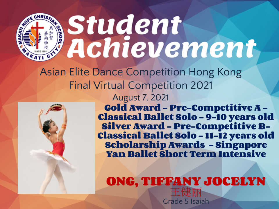Asian Elite Dance Competition Hong Kong Final Virtual Competition 2021