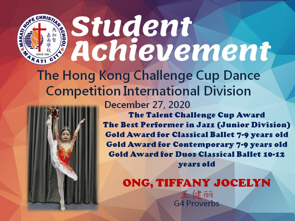 The Hong Kong Challenge Cup Dance Competition International Division