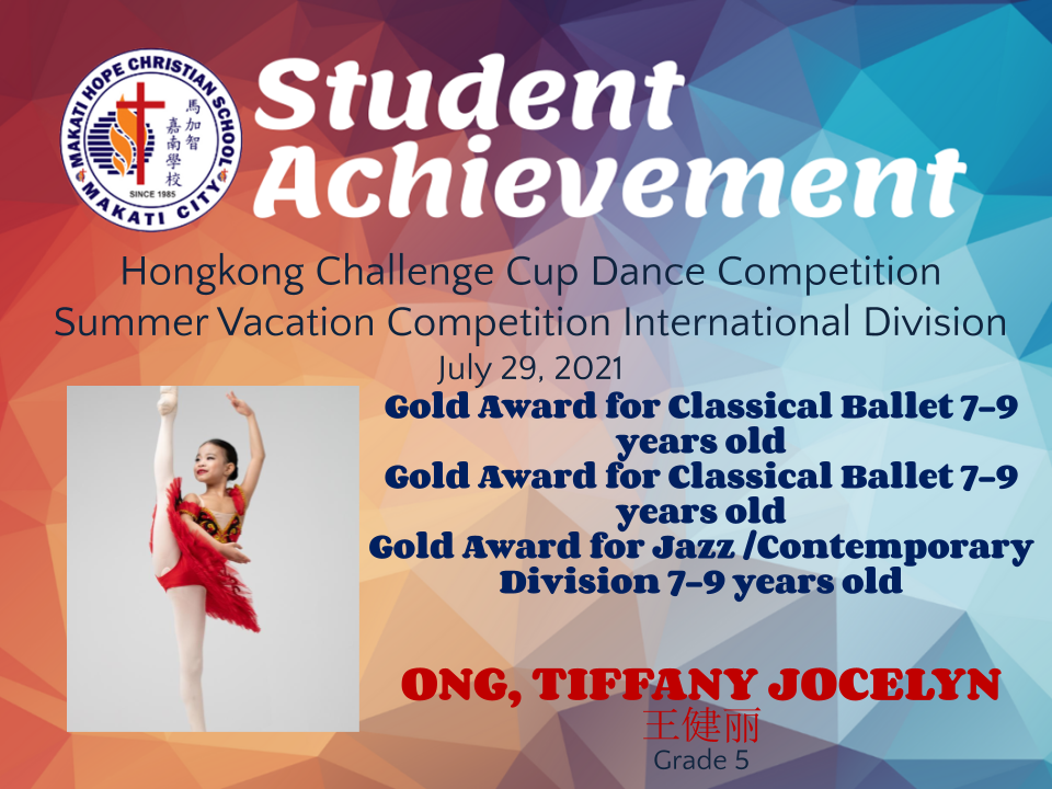 Hongkong Challenge Cup Dance Competition Summer Vacation Competition International Division