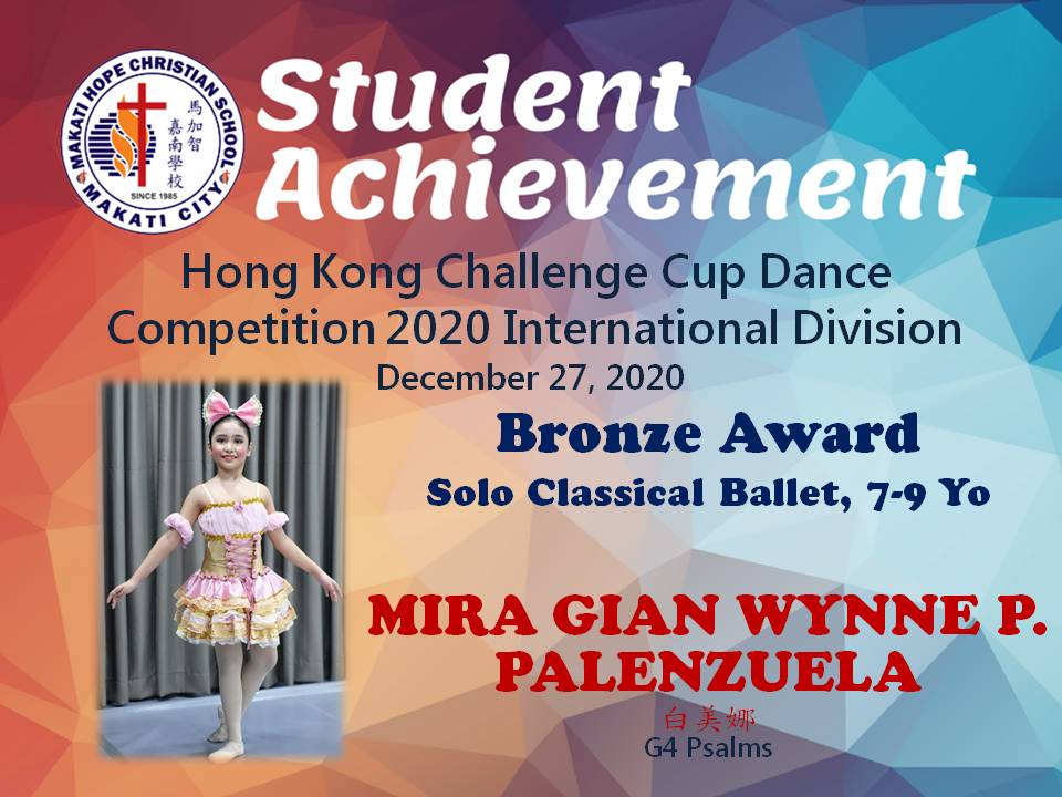 Hong KongChallenge Cup Dance Competition 2020 International Division