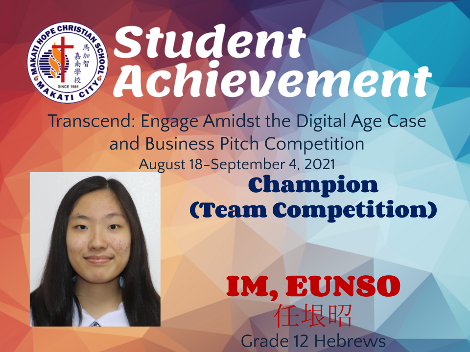 Transcend: Engage Amidst the Digital Age Case and Business Pitch Competition