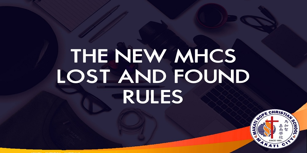 New MHCS Lost and Found